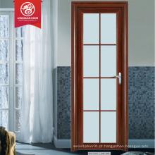 Baixo preço porta de banheiro porta de vidro preço balanço porta de alumínio design