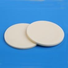 Disco de cerámica de alúmina 99,5% redondo prensado en seco