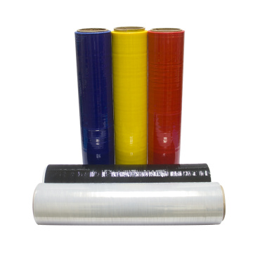 Plástico Stretch Film Black Hand Palet Shrink Wrap