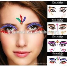Pegatina de sombra de ojos fácil de transferir con diseño de moda
