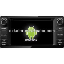 4.2 Reproductor de DVD del coche del sistema Android para 2013 Mitsubishi Outlander con GPS, Bluetooth, 3G, iPod, juegos, zona dual, control del volante