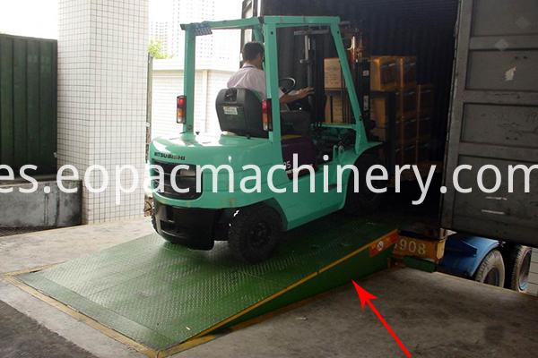 Truck Container Loading Ramp
