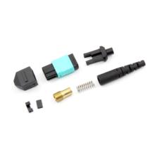 Connecteur optique rond de fibre de MPO / MTP pour le câble mini 3mm