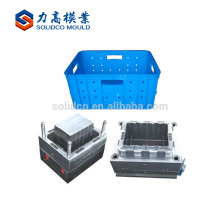 High quality injection plastic crate mould mold