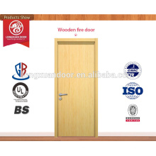 Popular wooden fire rated door made in china