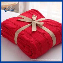 Algodão 100% algodão cor cobertores (qhd887609)