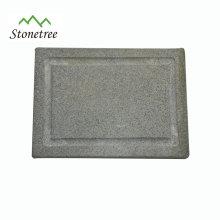 Garden Kitchen Accessories Of BBQ Lava Stone Grill Board