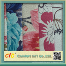 Printing Velour Veloba Fabric Shsf04693