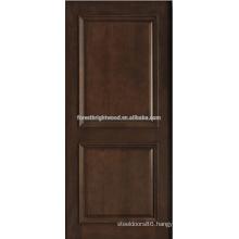 2- panel mahogany solid wood door design