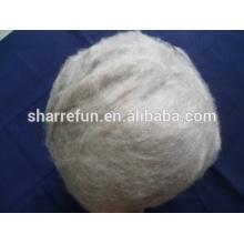 pur mongol Cachemire dehaired fibre naturelle marron