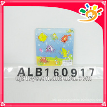 Mini wooden puzzle for promotional educational puzzle game for kids