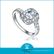 Wholesale Classsic 925 Sterling Silver Ring with CZ (R-0376)