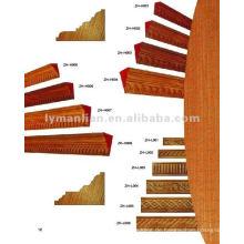 Inlay-Design Holzformteile für Gebäude