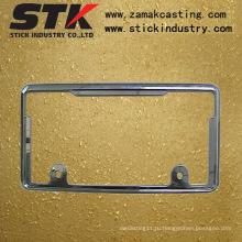 Рамка номерного знака (цинковый сплав, алюминиевый сплав, ISO, SGS)