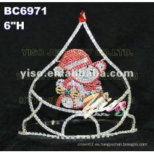 Tiara de diamantes de imitación