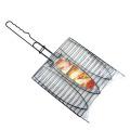 bbq high quality non-stick grill fish basket rack