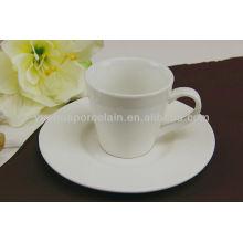 Barato cerâmica moderna xícara de chá e pires atacado