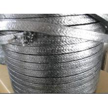 Emballage de fibre de carbone avec des lubrifiants propriétaires et des particules de graphite