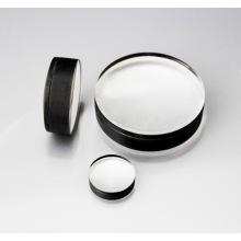 Achromatische Laser-Borosilikatglaslinse mit schwarzer Beschichtung