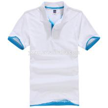 Polo en gros blanc d'OEM pour les hommes