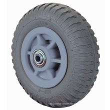 Резиновое колесо с сильным износом (серый)