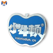 Insignia de Apple con forma de insignia de metal pin de seguridad