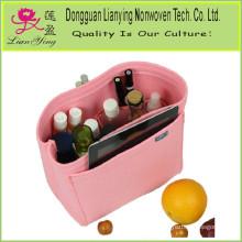 Felt Container Cosmetic Bag Organizer Storage Box Bag Organizing Handbag