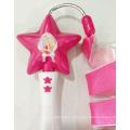Star Dance Ribbon Stick Dança Wand Brinquedos para Crianças