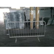 Barrière de contrôle personnalisée en métal, Barricades portatives, barrières pour piétons