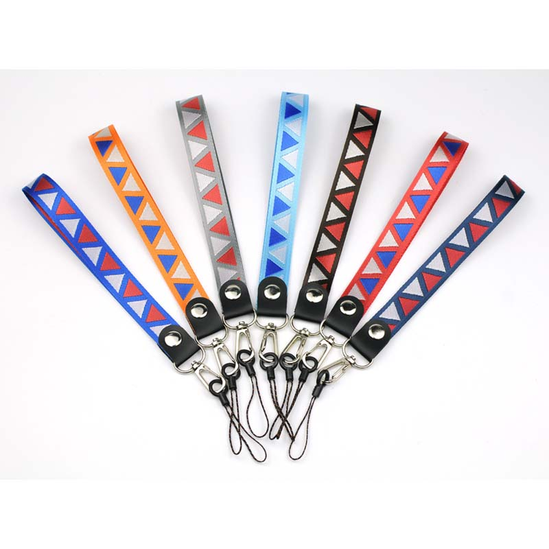 Promotional durable badge lanyards with logo pattern