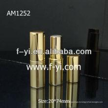 Tubo redondo de labios de aluminio