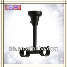double curtain rod bracket in metal,extendable curtain rod brackets,curtain rod bracket plastic