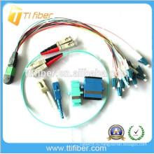 Оптоволоконная сборка MPO / LC (оптоволоконная перемычка)