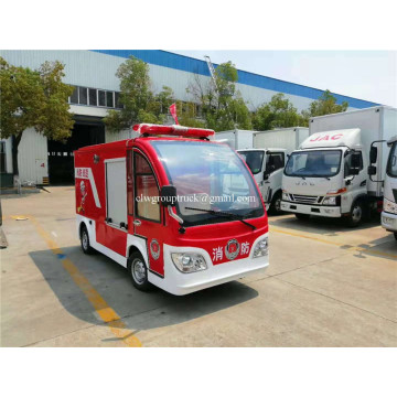 Electric four-wheel fire truck 1000L