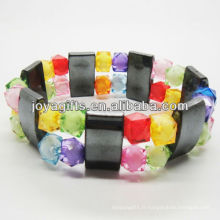 01B5008 / Nouveaux produits pour 2013 / hematite spacer Bracelet bracelet bijoux Hematite Bracelet / Hematite Magnétique