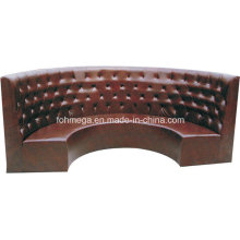 Restaurant Semicircle Upholstery Sofa (FOH-CBCK65)