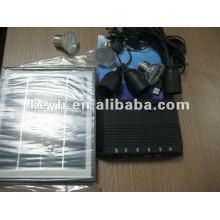 Solarenergie-Kit. Bequemlichkeit für den Außenbereich.
