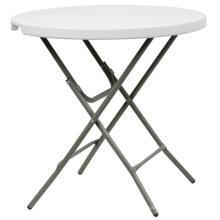 80cm mesa redonda de plástico de la barra, mesa de café