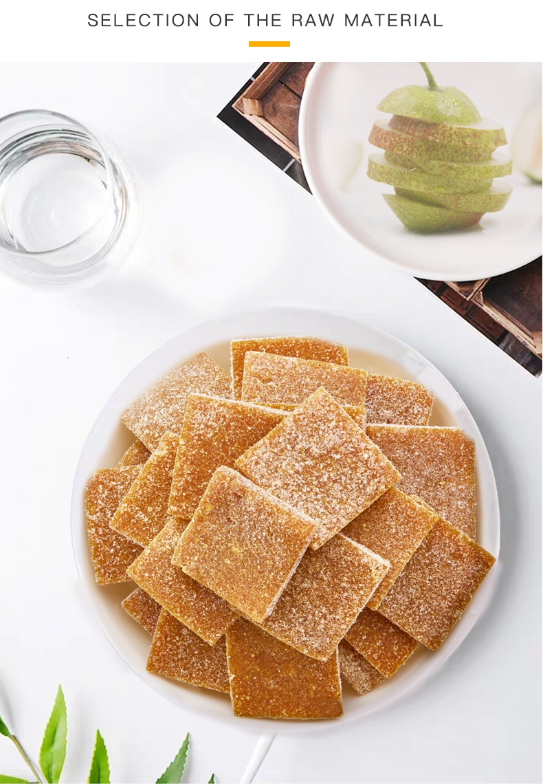 Healthy Laiyang Pear Paste Slices