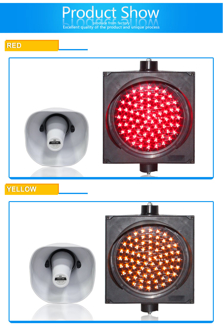 mix color traffic light