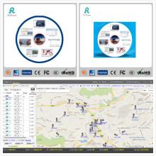 Software de rastreo de mapas GPS de mapas de Google