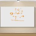 Clock Wall Paper Printing Custom Clock Home Decor Wall Sticker
