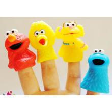 Brinquedos de dedo de plástico engraçado de alta qualidade