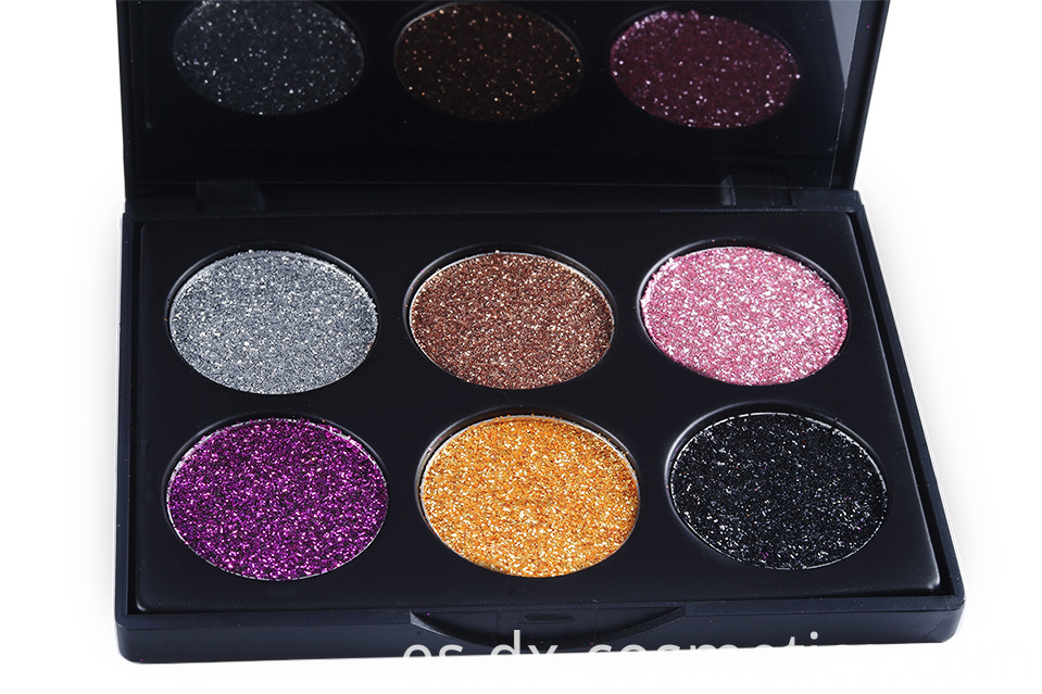 6 Colors beauty Gligger Eye Shadow 8