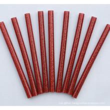 glitter hot melt glue stick / EVA hot melt adhesive colorful glitter glue sticks