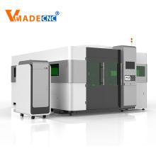 full cover fiber laser cutting machine 6000
