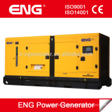 doosan 400kva diesel generator silent type Noiseless with Doosan engine P158LE