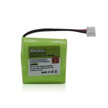Bloco 2.4V da bateria recarregável da pilha do botão de NiMH para medidores / telefone sem corda