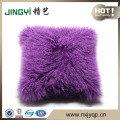 CleanlySheepSkin Throw Cushion