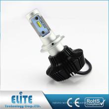 China piezas de automóviles ZES auto cabeza lámparas G7 400lm h1 h3 h4 h7 12 v 55 w led cabeza bombilla
